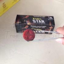 阿拉伯水烟炭易燃炭四角星星炭手包纸120片装 KOKO STAR
