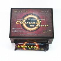 阿拉伯水烟炭巧克力炭易燃炭圆片炭直径33毫米100片盒装