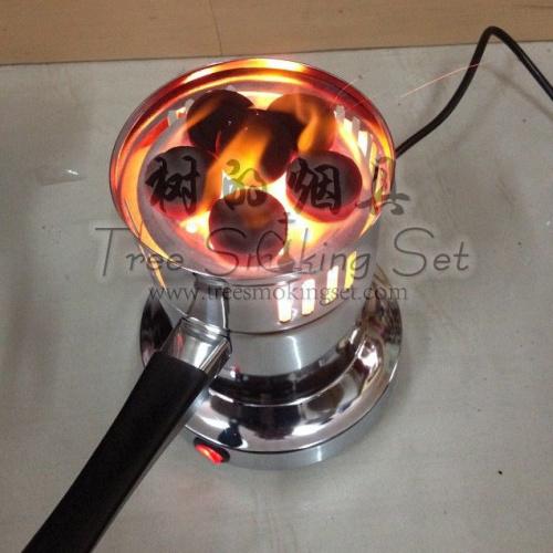 中号烧炭电热水烟炭炉子