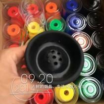 多彩硅胶烟碗,不怕摔的烟碗