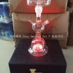 新版阿尔法赫带灯玻璃壶