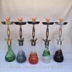 传统俄罗斯全锌合金大号阿拉伯水烟壶