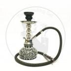 阿拉伯水烟小号单管蕾丝壶 黑
