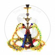 大号巴拉拉魔法杖四管阿拉伯水烟壶