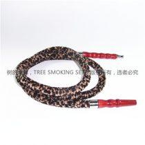 棕色豹纹木柄烟管