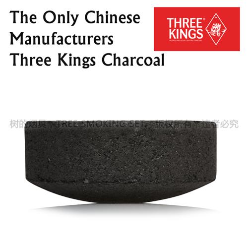 three kings charcoal 33mm