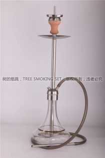 光杆水烟壶 阿拉伯水烟壶