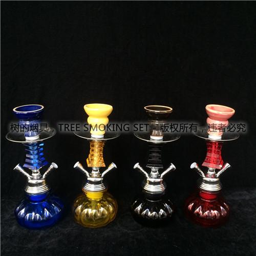 阿拉伯水烟 水烟壶 玻璃壶 小号壶