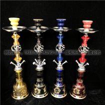 4管 4色 中号麻花 阿拉伯水烟 水烟壶