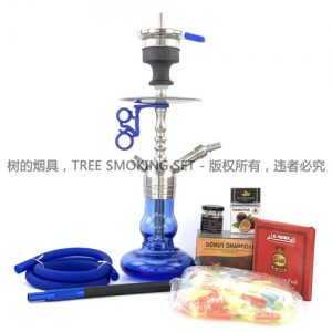 amy deluxe Small stainless steel hookah