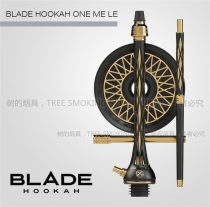 bladehookah one me le刀锋战士水烟壶俄罗斯品牌中号 阿拉伯酒吧夜店水烟壶高端制造